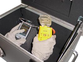 RF Screened box developed for use with all the BT100 Testers POA