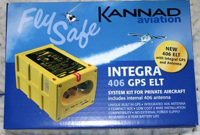 Kannad Integra 406AF-H  C/W backup antenna & GPS 10 year warranty.