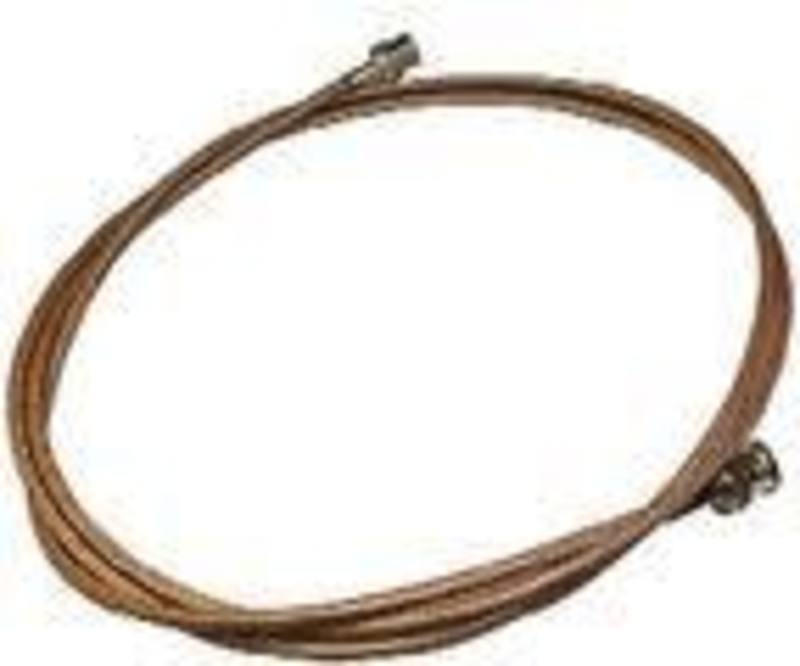 Teflon Coated antenna cable 1825mm with BNC connectors